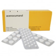 Pharmacogenetics DNA test for acenocoumarol